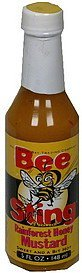 rainforest honey mustard sweet and a bit hot Bee Sting Nutrition info