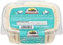 ranch dip roasted garlic Santa Barbara Bay Nutrition info