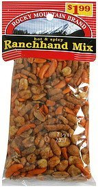 ranchhand mix hot & spicy Rocky Mountain Brand Nutrition info