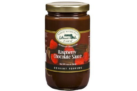 raspberry chocolate sauce Robert Rothschild Farm Nutrition info