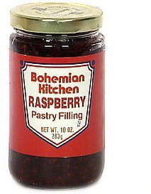 raspberry pastry filling Bohemian Kitchen Nutrition info