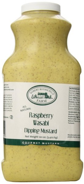 raspberry wasabi dipping mustard Robert Rothschild Farm Nutrition info