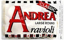 ravioli large round Andrea Nutrition info