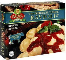 ravioli tri-borough cheese New York Pasta Authority Nutrition info