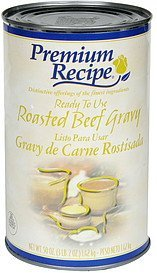 ready to use gravy roasted beef Premium Recipe Nutrition info