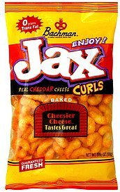 real cheddar cheese curls baked Jax Nutrition info