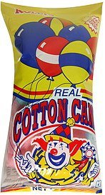 real cotton candy Rolets Nutrition info