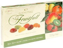 real fruit jellies fruitfull Ganong Nutrition info