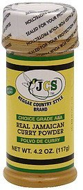real jamaican curry powder choice grade aaa Jcs Reggae Country Style Brand Nutrition info