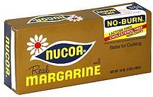 real margarine Nucoa Nutrition info