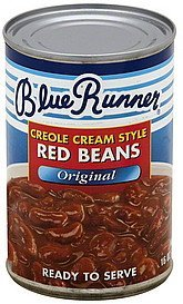 red beans creole cream style, original Blue Runner Nutrition info