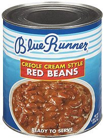 red beans creole cream style Blue Runner Nutrition info