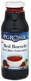 red borscht beet juice concentrate A-GROSIK Nutrition info