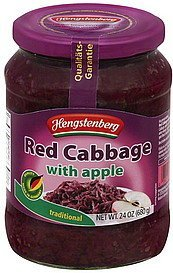 red cabbage with apple, traditional Hengstenberg Nutrition info