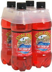 red cherry soda Stone Creek Nutrition info