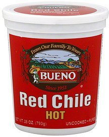 red chile hot Bueno Nutrition info