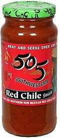red chile sauce medium 505 Southwestern Nutrition info