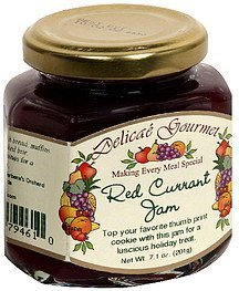 red currant jam Delicae Gourmet Nutrition info