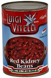 red kidney beans Luigi Vitelli Nutrition info