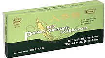 red panax ginseng extractum Superior Nutrition info