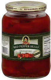 red pepper hulls Flora Foods Nutrition info