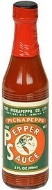 red pepper sauce hot Pickapeppa Nutrition info