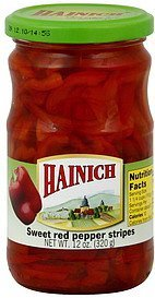 red pepper sweet, stripes Hainich Nutrition info