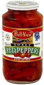 red peppers sweet Bell View Nutrition info