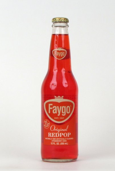 red pop Faygo Nutrition info