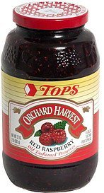red raspberry preserves Hy Tops Nutrition info