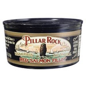 red salmon fillet Pillar Rock Nutrition info