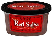 red salsa fire-roasted, mild Native Kjalii Foods Nutrition info