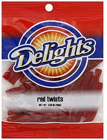 red twists Delights Nutrition info