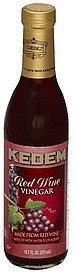 red wine vinegar Kedem Nutrition info