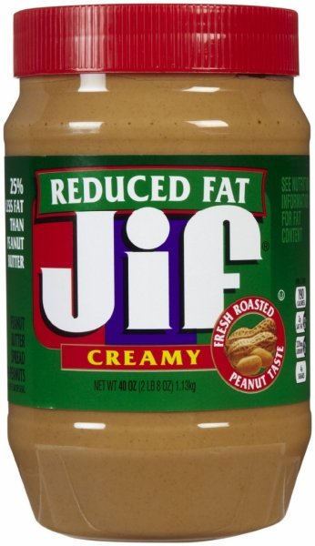 reduced fat creamy peanut butter Jif Nutrition info