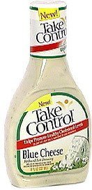 reduced fat dressing blue cheese Take Control Nutrition info