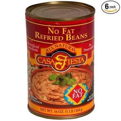 refried beans no fat Casa Fiesta Nutrition info