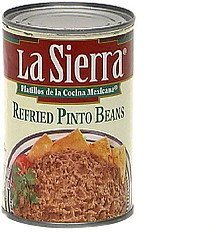 refried pinto beans LaSierra Nutrition info