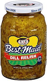 relish dill Best Maid Nutrition info