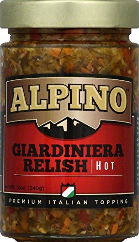 relish giardiniera, hot Alpino Nutrition info
