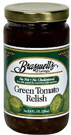 relish green tomato Braswells Nutrition info