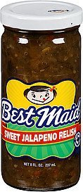 relish sweet jalapeno Best Maid Nutrition info