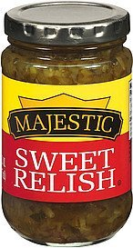 relish sweet Majestic Nutrition info