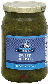 relish sweet Midwest Country Fare Nutrition info