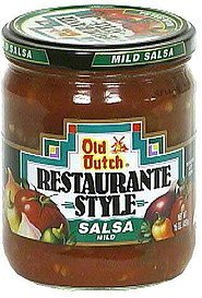 restaurante style salsa, mild Old Dutch Nutrition info