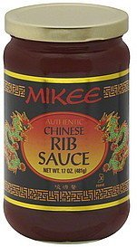 rib sauce chinese Mikee Nutrition info