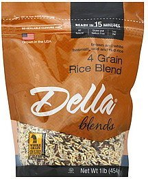 rice 4 grain blend Della Nutrition info