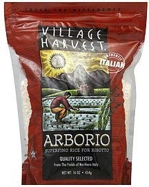 rice arborio superfino for risotto Village Harvest Nutrition info