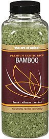 rice bamboo The Art Of Spice Nutrition info