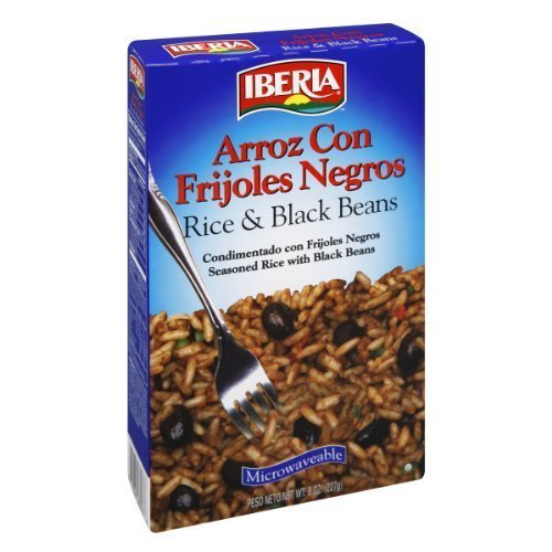 rice black beans IBERIA Nutrition info